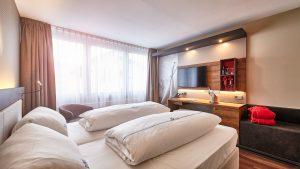 4 Sterne Hotel City Krone, Zimmer, Silvesterball 2018, Friedrichshafen, Bodensee